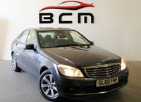 2010 MERCEDES-BENZ C CLASS 2.1 C220 CDI BLUEEFFICIENCY SE 4d 170 BHP £5985.00