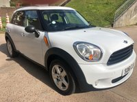 2011 MINI COUNTRYMAN 1.6 ONE D 5d 90 BHP £6750.00