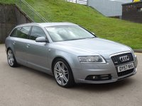 USED 2007 57 AUDI A6 3.0 TDI LE MANS EDITION 5d 177 BHP FULL SERVICE RECORD (9 STAMPS) +  NAVIGATION SYSTEM +   LEATHER TRIM +  FULL YEAR MOT +  PARKING AID