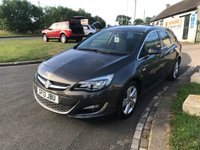 2013 VAUXHALL ASTRA 2.0 SRI CDTI 160ps estate 39000 miles 2 owners great value  £6995.00