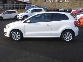 2013 VOLKSWAGEN POLO 1.2 MATCH EDITION £SOLD