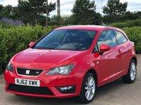 2012 SEAT IBIZA 1.2 TSI FR 3d 104 BHP £5995.00