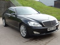 USED 2008 57 MERCEDES-BENZ S CLASS 3.0 S320 CDI 4d 231 BHP FULL SERVICE RECORD (9 STAMPS) +  FULL YEAR MOT +  NAVIGATION SYSTEM +  LEATHER TRIM +  BLUETOOTH