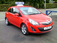 USED 2012 61 VAUXHALL CORSA 1.2 SXI AC 3d 83 BHP CADE CARS LTD. Established for over 25 years.