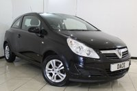 USED 2009 58 VAUXHALL CORSA 1.2 ACTIVE CDTI 3DR 73 BHP AIR CONDITIONING + MULTI FUNCTION WHEEL + RADIO/CD + ELECTRIC WINDOWS + 15 INCH ALLOY WHEELS
