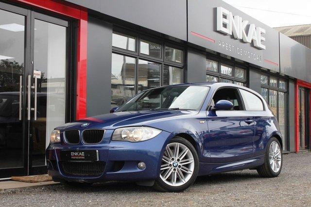 2008 08 BMW 1 SERIES 2.0 123D M SPORT 3d 202 BHP