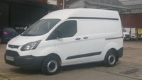 2015 FORD TRANSIT CUSTOM 2.2 270 LR P/V 1d 99 BHP 2 OWNERS F/S/H  12 MONTHS WARRANTY COVER   £7990.00