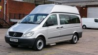 2008 MERCEDES-BENZ VITO 2.1 111 CDI LONG SWB 1d 116 BHP  5 SEATER HI/ROOF/ WITH TAIL LIFT/ RAMP / 1 OWNER F/S/H 2 KEYS  12 MONTHS WARRANTY COVER \ £5390.00