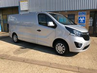 USED 2015 15 VAUXHALL VIVARO 1.6 2900 L2H1 CDTI P/V SPORTIVE 1d 114 BHP ***FINANCE AVAILABLE *** CALL NOW OR APPLY ONLINE