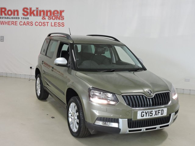 View our 2015 15 SKODA YETI (37)   1.2 OUTDOOR SE TSI DSG 5d AUTO 109 BHP