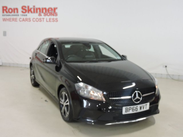 View our 2016 66 MERCEDES-BENZ A-CLASS 1.5 A 180 D SE 5d 107 BHP