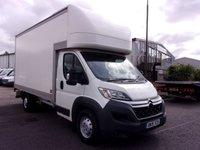 2015 CITROEN RELAY 2.2 35 HEAVY L4 LUTON WITH TAIL LIFT HDI 150 BHP £10750.00