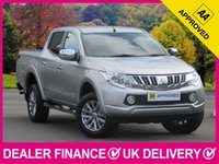 USED 2016 16 MITSUBISHI L200 2.4 DI-D WARRIOR AUTOMATIC DOUBLE CAB SAT NAV LEATHER SAT NAV XENONS LEATHER REVERSE CAM CRUISE AIR CON