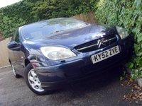 2002 CITROEN C5 2.0 EXCLUSIVE 16V 5d AUTO 138 BHP £599.00