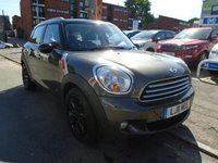 2011 MINI COUNTRYMAN 1.6 COOPER D ALL4 5d 112 BHP £7249.00