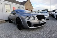 USED 2005 05 BENTLEY CONTINENTAL GT 6.0 W12 Auto 2dr [ Supersports Conversion ] ( 680 bhp ) Supersports Conversion Full Bentley Service History Just Been Serviced Magnificent Example Must See!!!