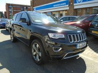 2013 JEEP GRAND CHEROKEE 3.0 V6 CRD OVERLAND 5d AUTO 247 BHP £17694.00