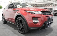 USED 2013 13 LAND ROVER RANGE ROVER EVOQUE 2.2 SD4 DYNAMIC LUX 3d AUTO 190 BHP COUPE+LUX+BLACK PACK+PAN ROOF