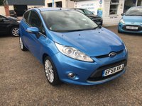 USED 2010 59 FORD FIESTA 1.4 TITANIUM 3d 96 BHP ** NOW SOLD ** NOW SOLD **