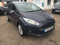 USED 2015 15 FORD FIESTA 1.6 TITANIUM X TDCI 5d 94 BHP ** NOW SOLD ** NOW SOLD **