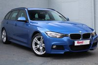 USED 2014 64 BMW 3 SERIES 3.0 330D M SPORT TOURING 5d AUTO 255 BHP DAB+POWER BOOT+BEST COLOUR