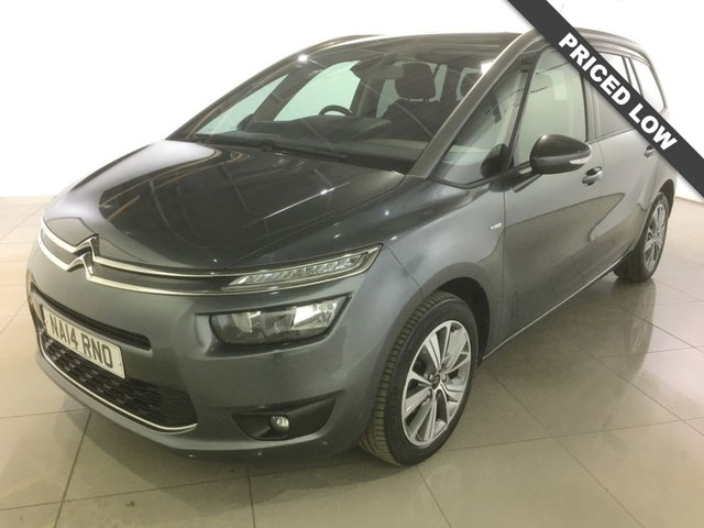 View our 2014 14 CITROEN C4 GRAND PICASSO 1.6 E-HDI AIRDREAM EXCLUSIVE 5d 113 BHP