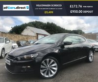 USED 2012 12 VOLKSWAGEN SCIROCCO 2.0 GT TDI BLUEMOTION TECHNOLOGY 2d 140 BHP