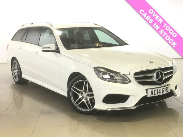 View our 2014 14 MERCEDES-BENZ E CLASS 2.1 E220 CDI AMG SPORT 5d AUTO 168 BHP