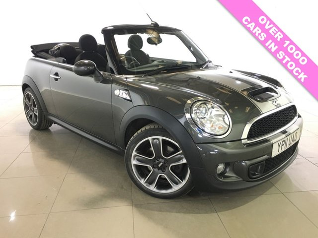 View our 2011 11 MINI CONVERTIBLE 1.6 COOPER S 2d 184 BHP
