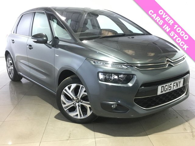 View our 2015 15 CITROEN C4 PICASSO 1.6 E-HDI EXCLUSIVE PLUS ETG6 5d AUTO 113 BHP