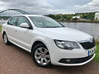 2014 SKODA SUPERB 1.6 S TDI CR 5d 104 BHP £8990.00