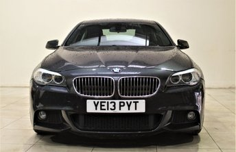 2013 BMW 5 SERIES 2.0 520D M SPORT 4d AUTO 181 BHP £14499.00