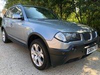 2004 BMW X3 2.5 SPORT 5d AUTO 190 BHP £3900.00