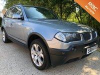 2004 BMW X3 2.5 SPORT 5d AUTO 190 BHP £3450.00