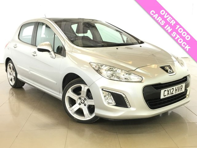 View our 2012 12 PEUGEOT 308 1.6 ALLURE 5d 120 BHP