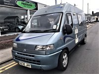 1998 FIAT DUCATO TIMBERLAND FREEDOM 2 BERTH MOTOR HOME