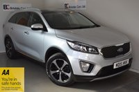 USED 2015 15 KIA SORENTO 2.2 CRDI KX-3 ISG 5d 197 BHP Immaculate - One Owner - Full Kia Service History - Black Leather - Satellite Navigation - Panoramic Roof - 7-Seats - Must Be Seen