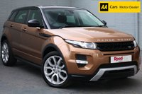 USED 2014 64 LAND ROVER RANGE ROVER EVOQUE 2.2 SD4 DYNAMIC 5d AUTO 190 BHP SATNAV + HEATED LEATHER SEATS