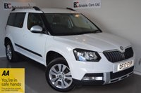 USED 2017 17 SKODA YETI 2.0 OUTDOOR SE L DRIVE TDI SCR 5d 109 BHP Immaculate - One Owner - Full Skoda Service History - Satellite Navigation - Full Leather - Heated Seats - Long Warranty - Parking Sensors - Must Be Seen