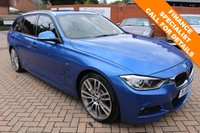 2014 BMW 3 SERIES 3.0 330D M SPORT TOURING 5d AUTO 255 BHP £18995.00