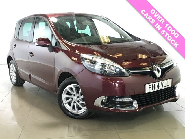 View our 2014 14 RENAULT SCENIC 1.5 DYNAMIQUE TOMTOM ENERGY DCI S/S 5d 110 BHP