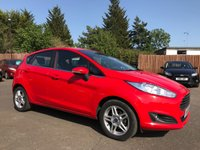 2014 FORD FIESTA 1.25 ZETEC 5d  VERY LOW MILEAGE EXAMPLE £6250.00