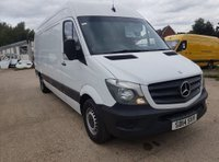 USED 2014 14 MERCEDES-BENZ SPRINTER 2.1 313 CDI LWB 1d 129 BHP EXCELLENT DRIVE FIRST TO SEE WILL BUY ... BOOK NOW FOR A TEST DRIVE