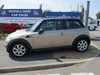 USED 2006 56 MINI HATCH COOPER 1.6 COOPER 3d 118 BHP 4 Stamps Of service History .New MOT & Full Service Done on purchase + 2 Years FREE Mot & Service Included After . 3 Months Russell Ham Quality Warranty . All Car's Are HPI Clear . Finance Arranged - Credit Card's Accepted . for more cars www.russellham.co.uk  - Owners Book Pack.