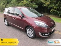 2012 RENAULT GRAND SCENIC 1.5 DYNAMIQUE TOMTOM ENERGY DCI S/S 5d 110 BHP £6000.00