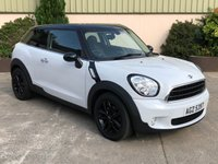USED 2015 MINI MINI PACEMAN 1.6 COOPER D 3d 111 BHP BEAUTIFUL CAR, HALF LEATHER, BLACK CONTRAST ROOF AND ALLOYS
