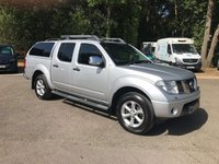 USED 2010 10 NISSAN NAVARA 2.5 DCI TEKNA 4X4 DCB AUTO Air Conditioning, Heated Seats, Full Leather, Sun Roof