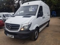 USED 2014 14 MERCEDES-BENZ SPRINTER 2.1 316 CDI MWB 1d 163 BHP 14 PLATE ASK FOR A TEST DRIVE