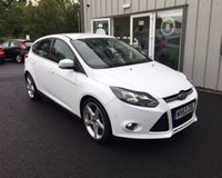 USED 2013 63 FORD FOCUS 1.6 TDCI TITANIUM NAVIGATOR 115 BHP THIS VEHICLE IS AT SITE 2 - TO VIEW CALL US ON 01903 323333