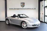 USED 2006 06 PORSCHE BOXSTER 3.2 24V S 2DR 280 BHP + FULL BLACK LEATHER INTERIOR + EXCELLENT SERVICE HISTORY + 1 OWNER FROM NEW + SOUND PACKAGE PLUS + SPORT SEATS + PARK ASSIST + CRUISE CONTROL + CLIMATE CONTROL + 18 INCH ALLOY WHEELS +